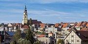 Historické centrum města Bystrzyca Klodzka.