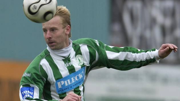 Záložník Bohemians Praha David Zoubek.