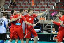 Čtvrtfinále MS ve florbale: Česko - Estonsko