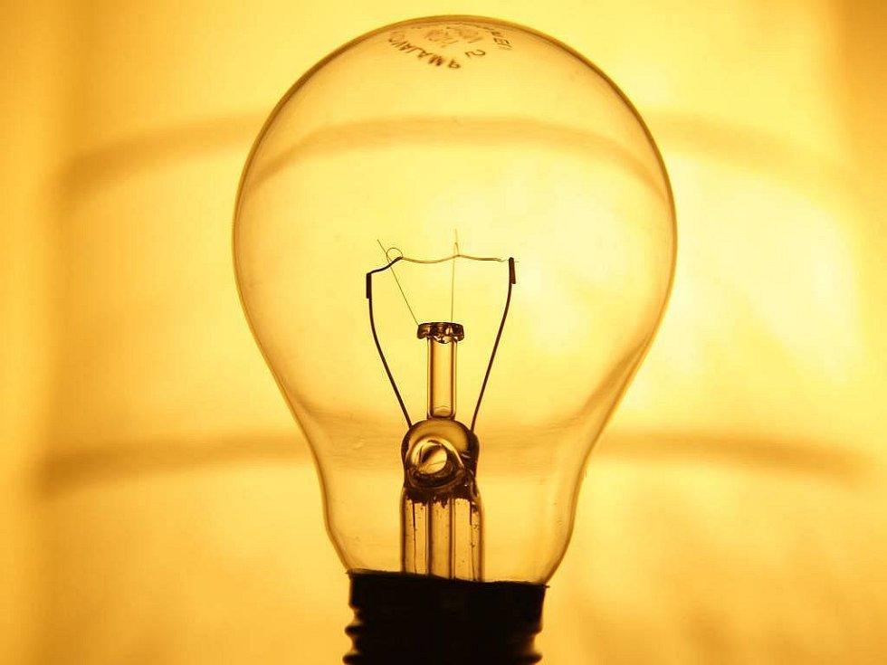 Žárovka - ilustrační foto