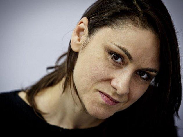 Zpěvačka a autorka Lenka Dusilová.