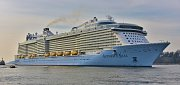 6. Anthem of the Seas - délka 347,1 metrů, hrubá tonáž 168 666 GT