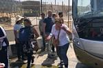 Autobus nedaleko pyramid v Gíze zasáhla exploze