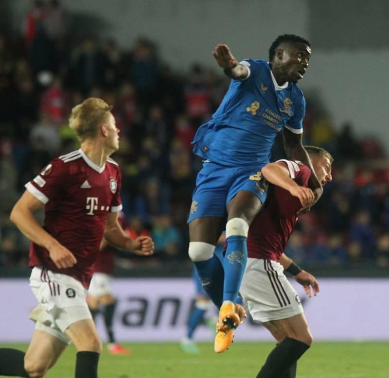Sparta v Evropské lize porazila Glasgow Rangers.