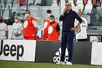 Trenér fotbalistů Juventusu Turín Maurizio Sarri