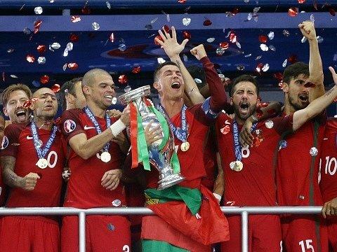 Portugalci se radují z historického titulu mistrů Evropy.