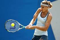 Lucie Šafářová na turnaji v Eastbourne.