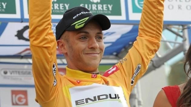 Cyklista Jonathan Tiernan-Locke.