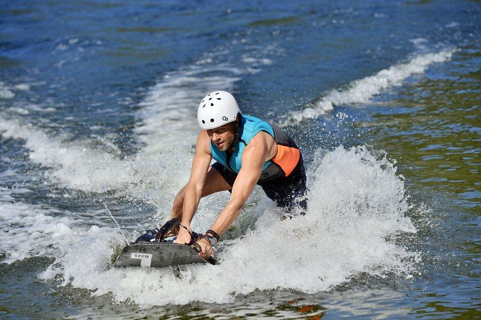 Jízda na jet surfu je velkým koníčkem Romana Vojtka