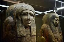 Pozdrav od Nilu. Výstava Sluneční králové nahlíží do světa stavitelů pyramid a věčné slávy jejich králů, královen a kněží.