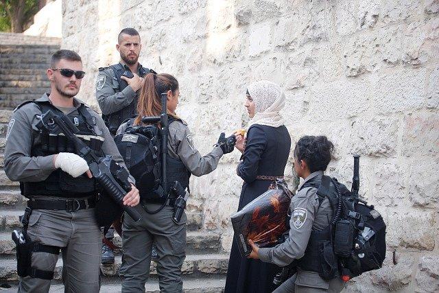 Bezpečnostní opatření v Jeruzalémě.