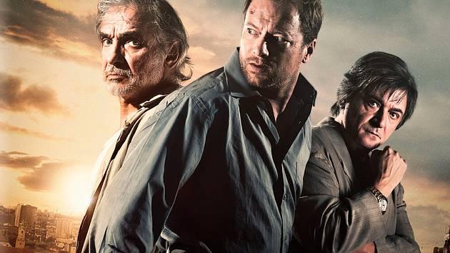 Kriminální thriller Rudý kapitán na DVD.