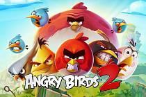 Mobilní hra Angry Birds 2.