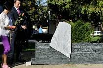 pomník obětem letecké katastrofy v Bratislavy z roku 1976