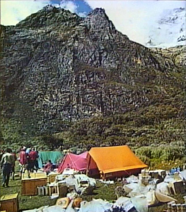 Tábor Expedice Peru 1970