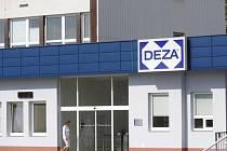 Výrobní areál chemičky Deza ve Valašském Meziříčí na Vsetínsku