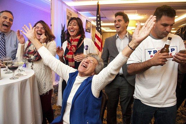 Volby prezidenta v USA.