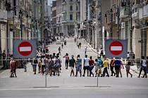 Koronavirus na Kubě. Ilustrační snímek