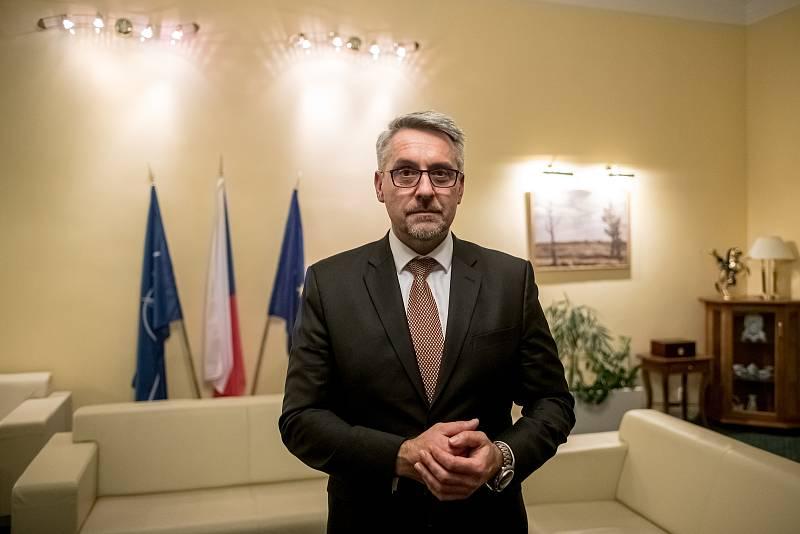 Ministr obrany Lubomír Metnar