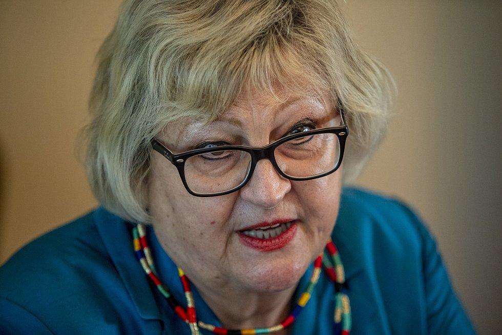 Velvyslankyně Chorvatska v České republice Ljiljana Pancirovová