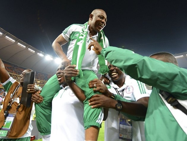 Trenér nigerijské fotbalové reprezentace Stephen Keshi.