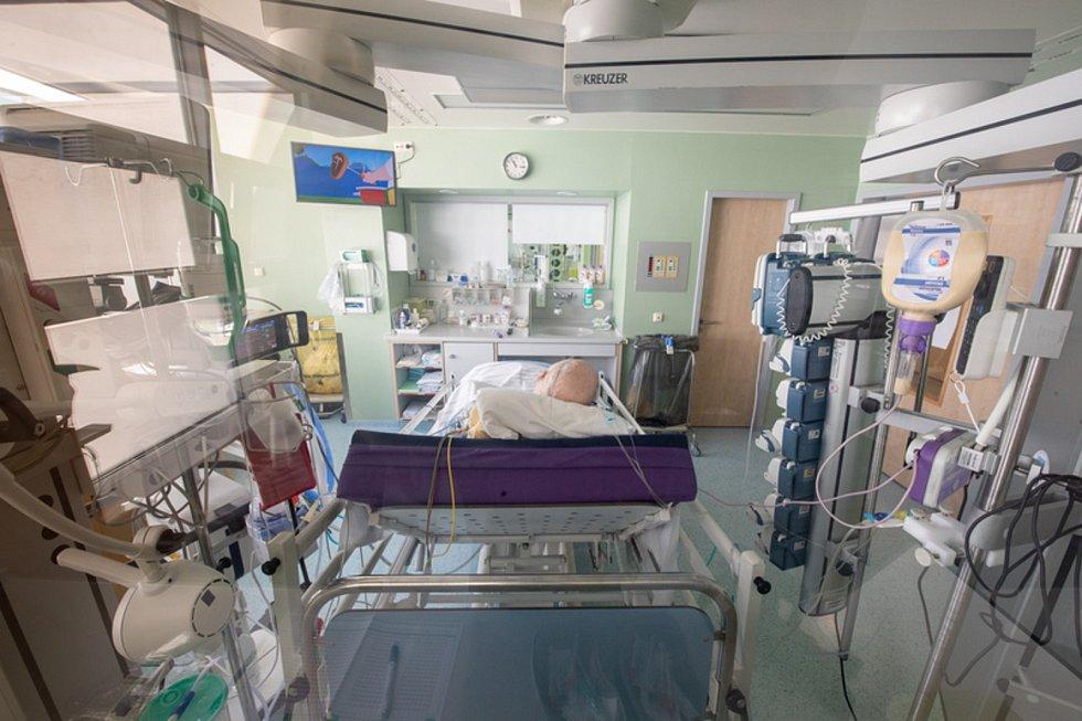 Pacient na klinice Asklepios v Německu
