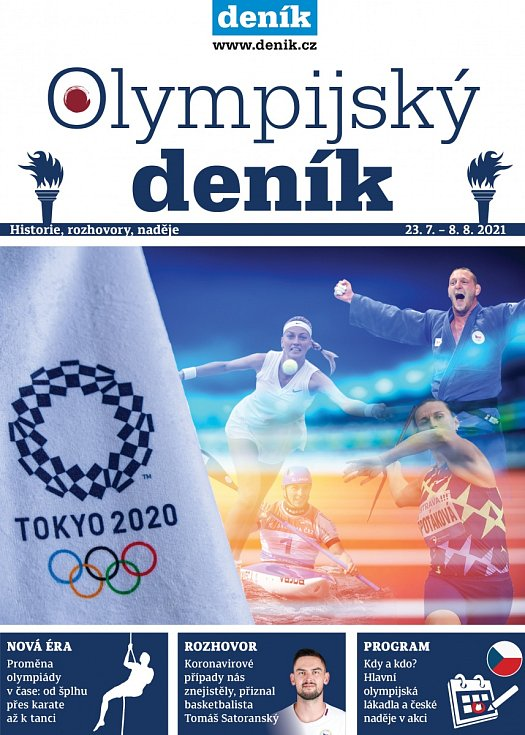 Olympijský deník, redakční příloha Deníku, vyšla v sobotu 24. července 2021
