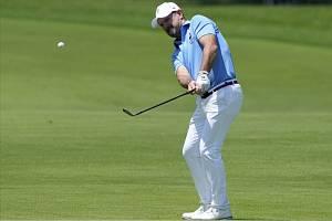 Slovenský golfista Rory Sabbatini ve finálovém kole olympijského turnaje