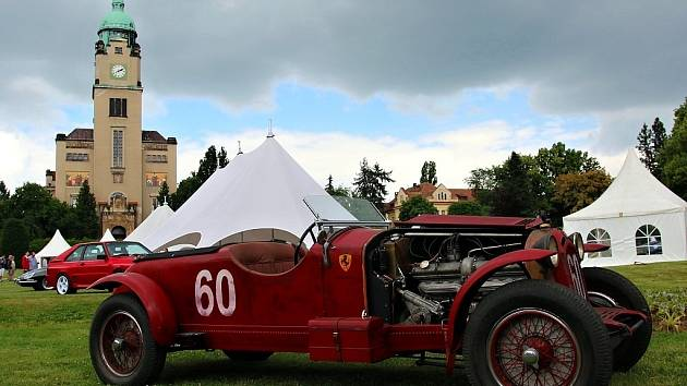 Legendy 2014: Alfa Romeo 8C Monza, která kdysi patřila Enzu Ferrarimu.