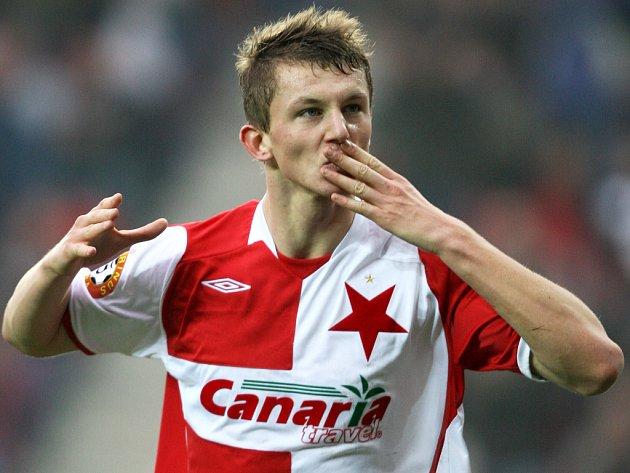 Tomáš Necid zařídil dvěma góly vítězství nad Brnem.