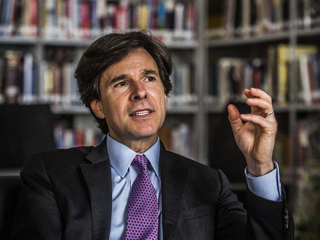 Americký velvyslanec v ČR Andrew Schapiro.