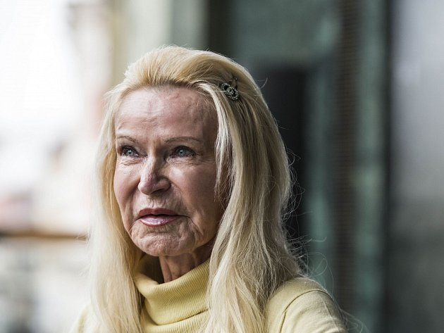 Herečka Jitka Frantová - Pelikánová