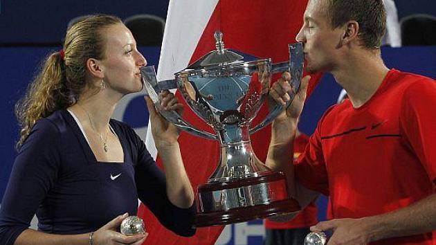 Petra Kvitová, Tomáš Berdych a jejich Hopman Cup.