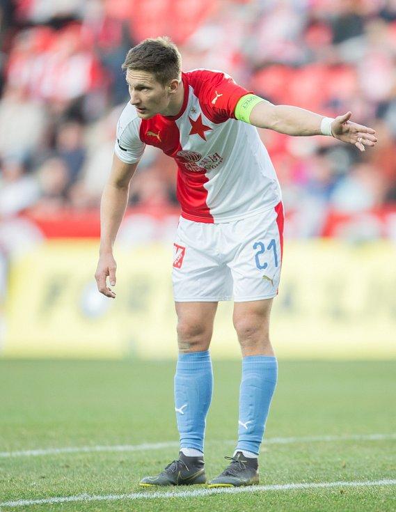 SK Slavia Praha – FC Slovan Liberec. Milan Škoda.