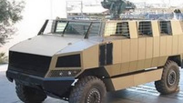 Vozidlo Golan nabízené Omnipolem
