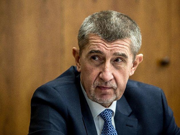 Ministr financí a předseda hnutí ANO Andrej Babiš.