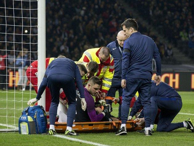 Jack Butland a jeho zranění