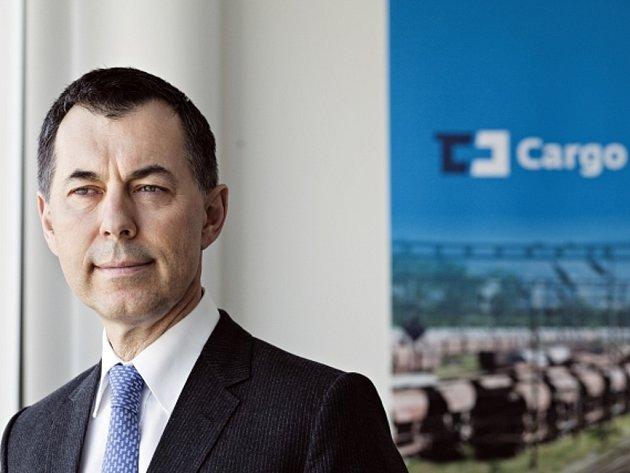 Gustav Slamečka, předseda představenstva ČD Cargo.