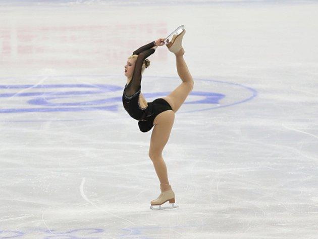 Eliška Březinová na mistrovství Evropy.