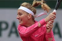 Česká tenistka Petra Kvitová v osmifinále French Open