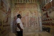 Egyptské úřady zpřístupnily veřejnosti 4000 let starou hrobku vezíra Mehu v Sakkáře