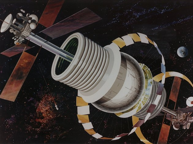 Princip fungování mezigenerační vesmírné lodi tzv. Bernalovy sféry popsal už v roce 1929 irský fyzik John Bernal.