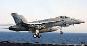 Stíhačka F/A-18F Super Hornet, ilustrační foto.