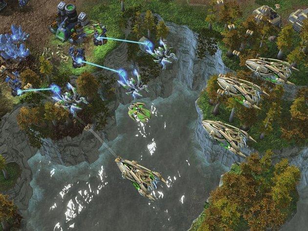 Počítačová hra StarCraft 2: Wings of Liberty.