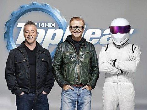 Herec Matt LeBlanc (vlevo) je novou posilou pořadu Top Gear.