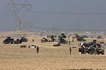 Irácké jednotky dobyly strategické letiště v Musulu.