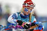 Biatlonistka Markéta Davidová