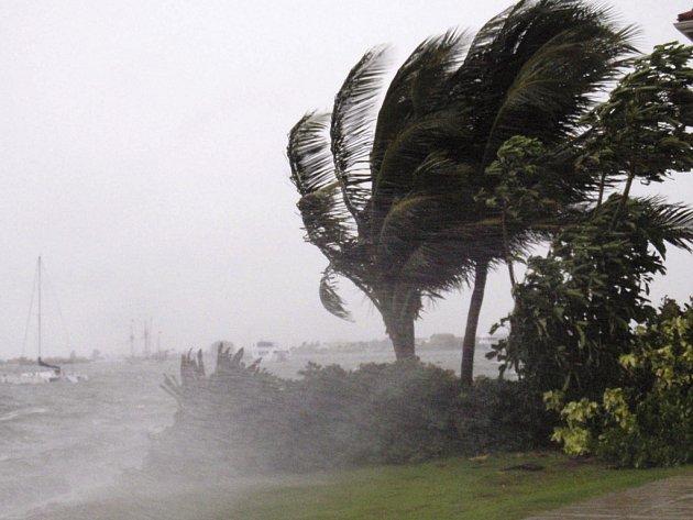 Hurikán Paloma udeřil na ostrov Grand Cayman v Karibiku.