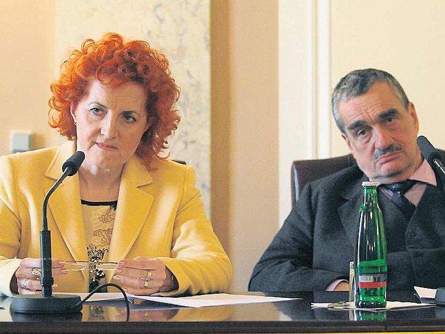 Jednání o radaru - Vlasta Parkanová, Karel Schwarzenberg