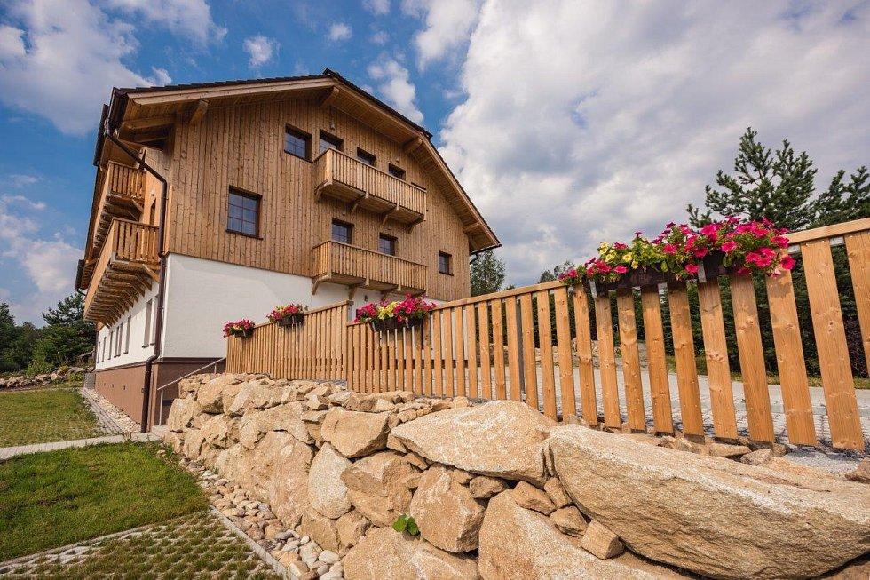 Petr Zamiška provozuje na Šumavě ubytovací zařízení pod názvem Prášilský ráj